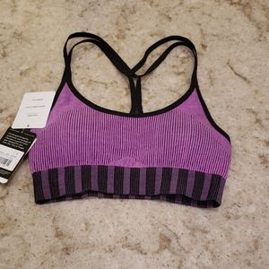 C9 Purple and Black Sports Bra NWT